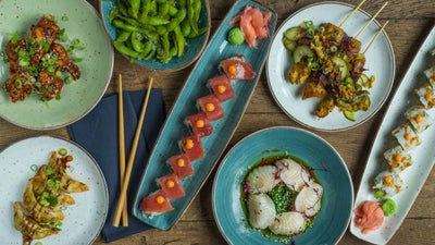 De Blauwe Draak.Blauwe Draak Japans Sushi Aziatisch Eten Bestellen Von